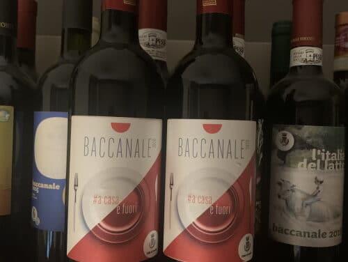 Baccanale, il Banco d'assaggi dei vini solo in video nella pagina Facebook