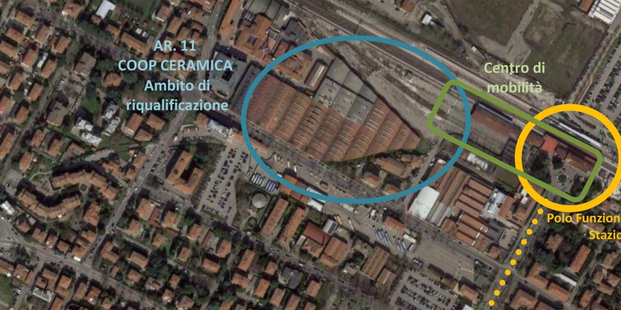 Parte da Coop Ceramica una struttura commerciale da via Marconi alla ferrovia