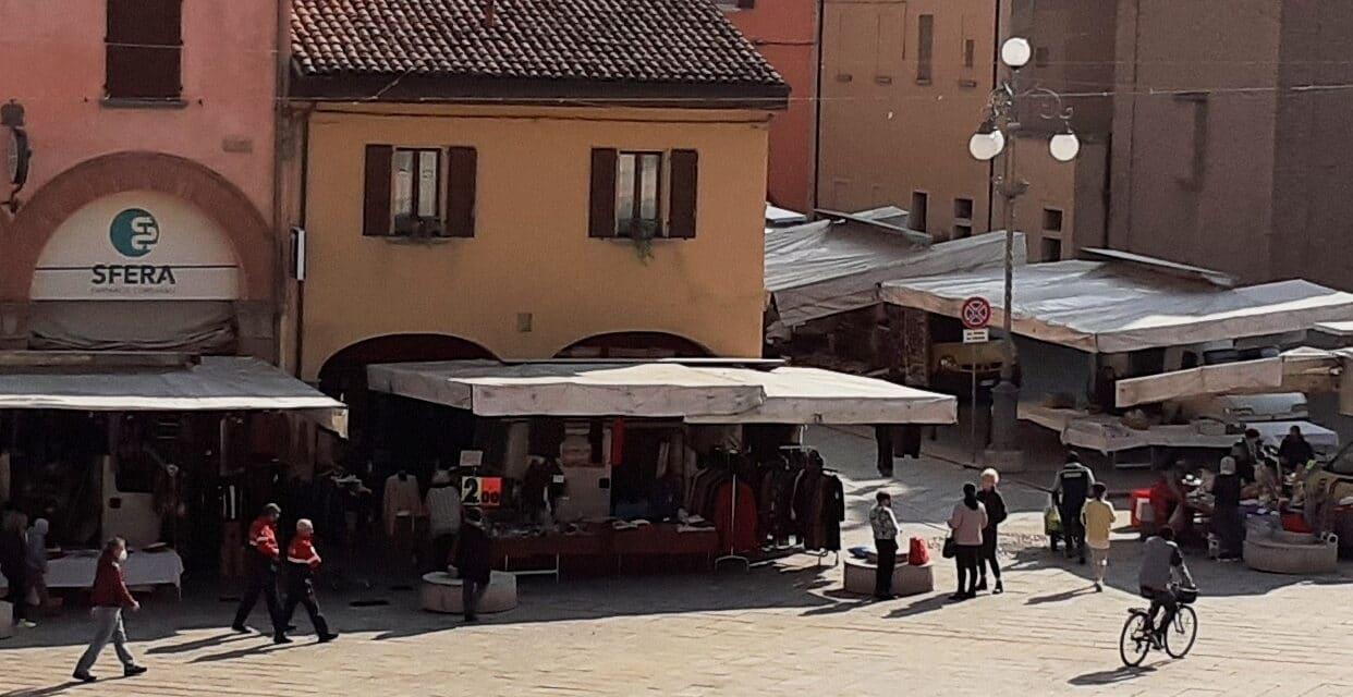 A Castel San Pietro viene sospeso il mercato ambulante del lunedì