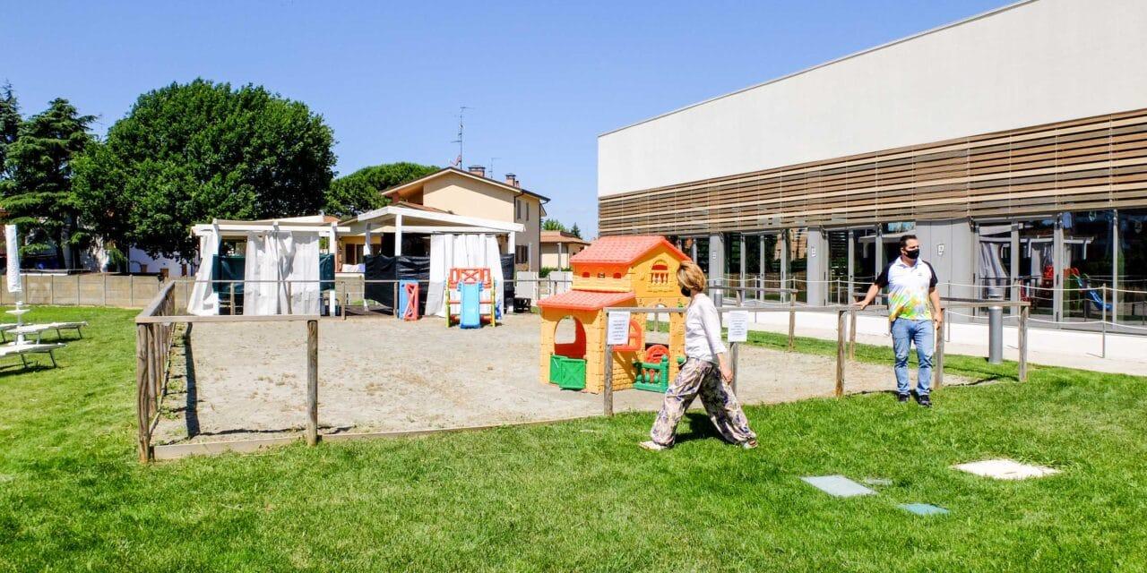 Torna l'attività sportiva, a turni e a pagamento, nel parco esterno all'Ortignola