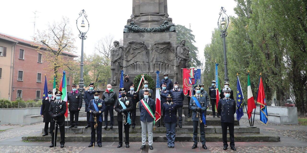 Cerimonia ridotta per la Giornata Forze Armate e la Festa dell'Unità Nazionale
