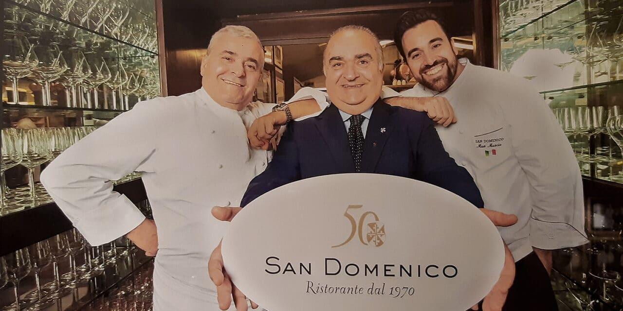 Il ristorante San Domenico conferma le due stelle nella guida Michelin