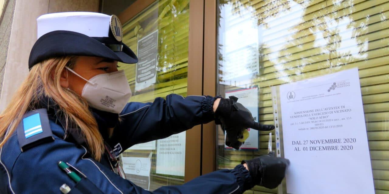 Faenza, sanzionato negozio per mancato rispetto normativa anti Covid