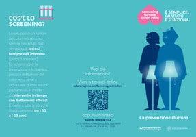 """""""La prevenzione illumina"""", campagne di sensibilizzazione contro il cancro colorettale"""
