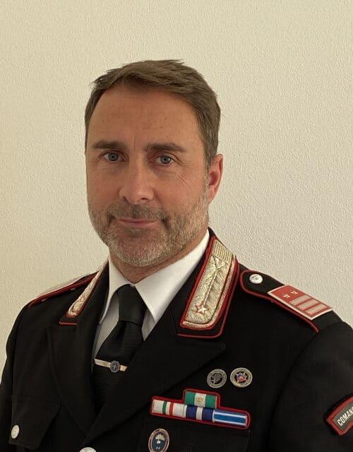 Il Luogotenente Pierluigi Raimondo nuovo comandante carabinieri a Castello
