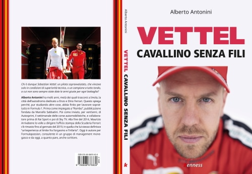 """""""Cavallino senza fili"""", la vita di Vettel in Ferrari nel libro di Alberto Antonini"""