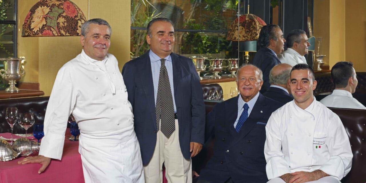 Se n'è andato Gianluigi Morini, il fondatore del ristorante San Domenico