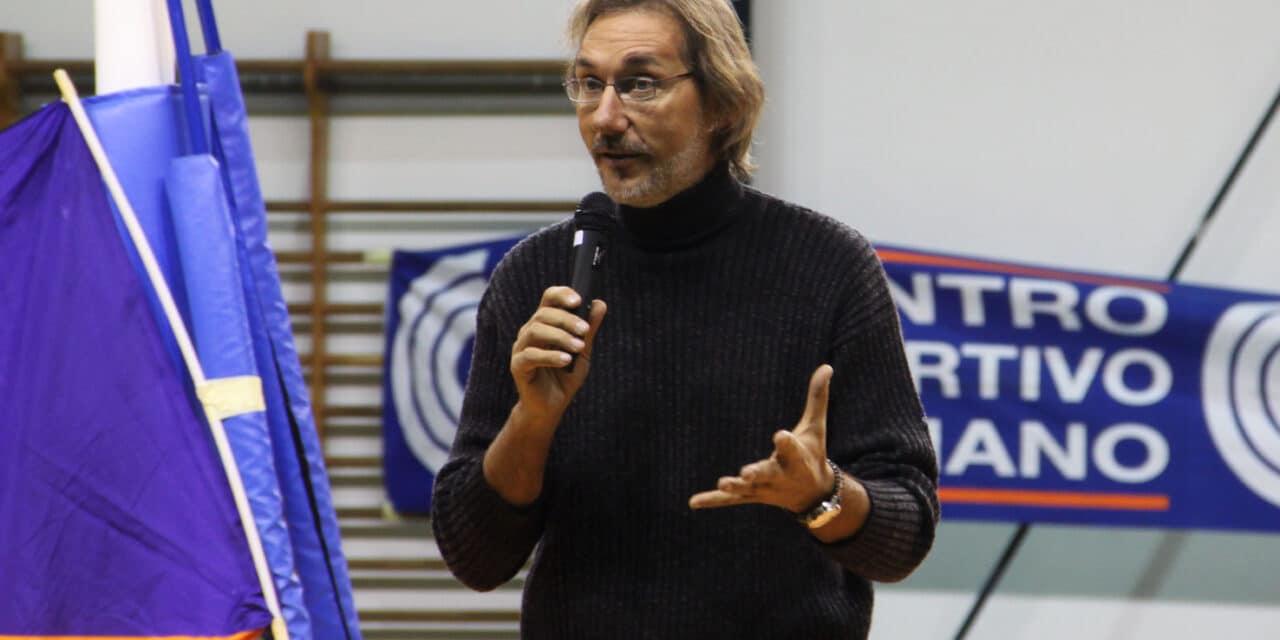 Solovolley e Diffusione Sport ospitano Andrea Zorzi il 3 gennaio al palaRuggi