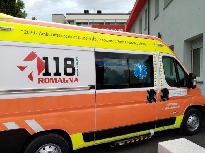 Unione Romagna faentina, attiva anche una seconda ambulanza sulle 24 ore