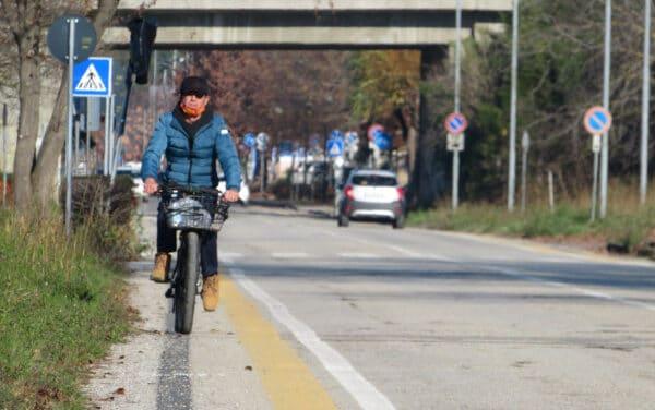 Terminati a Faenza i lavori per quattro corsie ciclabili