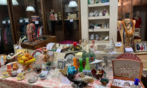Natale 2020 Faenza: mercatino vintage presso l'ex pellicceria Matatia
