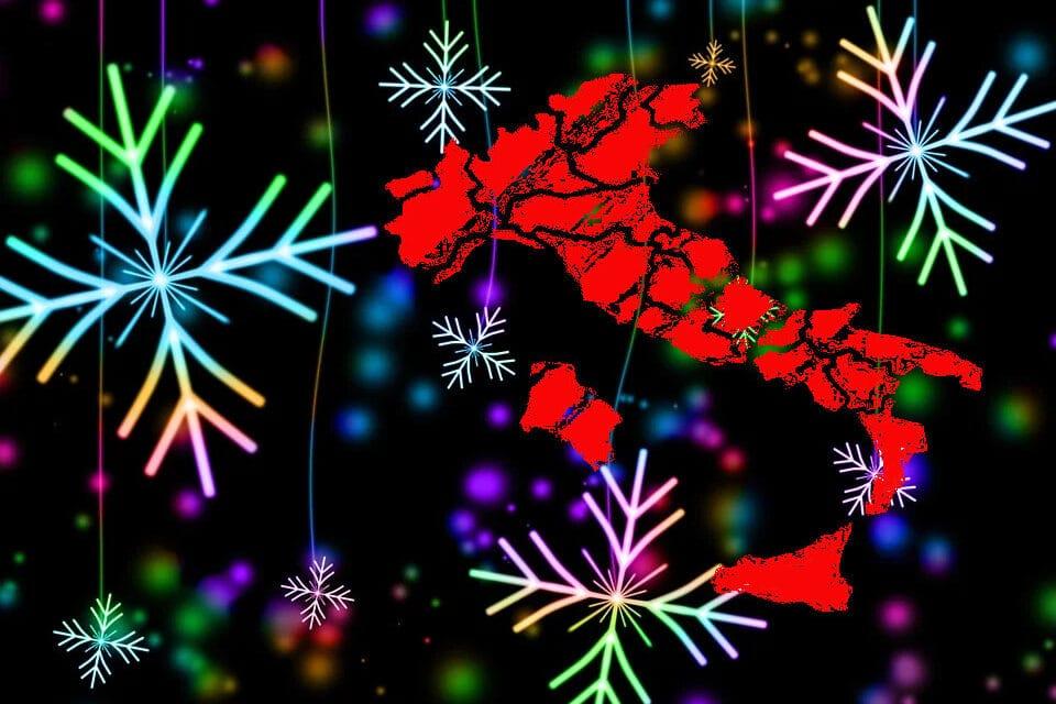 Natale: lockdown festivi e prefestivi, zona arancione per gli altri giorni