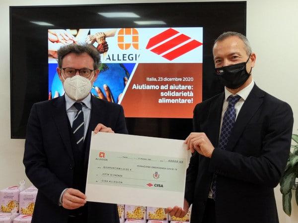 Faenza: 40 mila euro donati da Allegion Cisa per le famiglie più bisognose