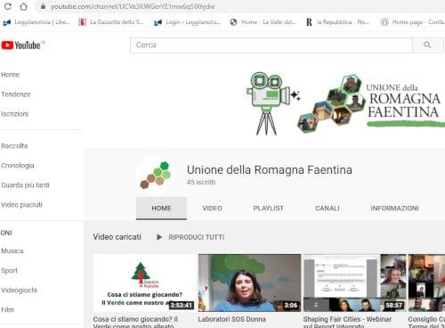 Unione Romagna faentina più social