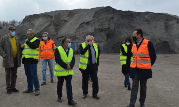 L'Amministrazione comunale ha visitato il Polo del recupero rifiuti di Imola