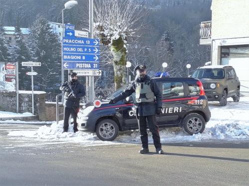 A Imola un positivo al Covid va a rubare al Leonardo: preso dai carabinieri