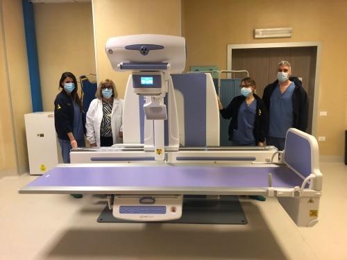 La Fondazione Carimola dona all'Ausl un apparecchio radiologico digitale