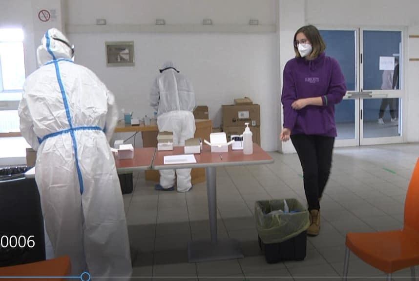Tamponi rapidi contro il Coronavirus a studenti e personale del polo tecnologico