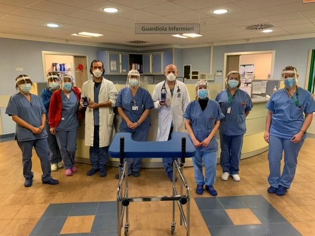 Dalle staffette di Baricentro Gim risorse per l'ospedale di Imola