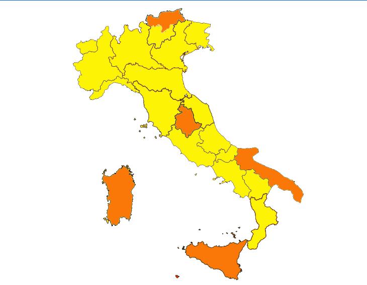Coronavirus: l'Emilia Romagna torna in zona gialla da lunedì 1 febbraio