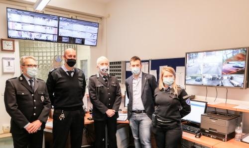 Polizia Locale, sala operativa per tutte le telecamere e un numero telefonico unico