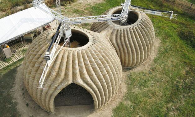Tecla, la casa in 3D prende forma