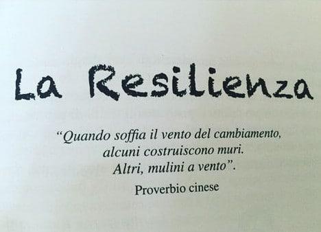 Resilienza e fiducia