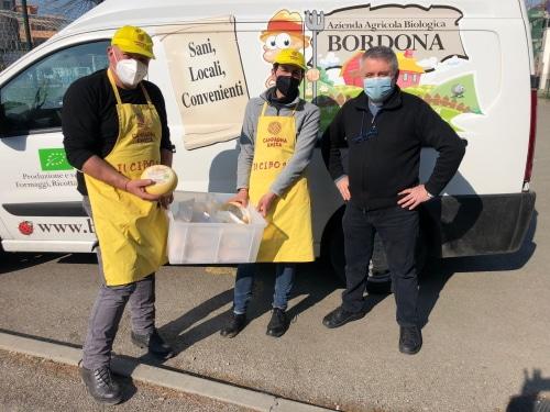 """L'azienda """"La Bordona"""" ha deciso di aiutare la Fondazione Santa Caterina"""