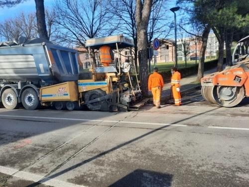 Manutenzione straordinaria delle strade: si comincia con viale Terme