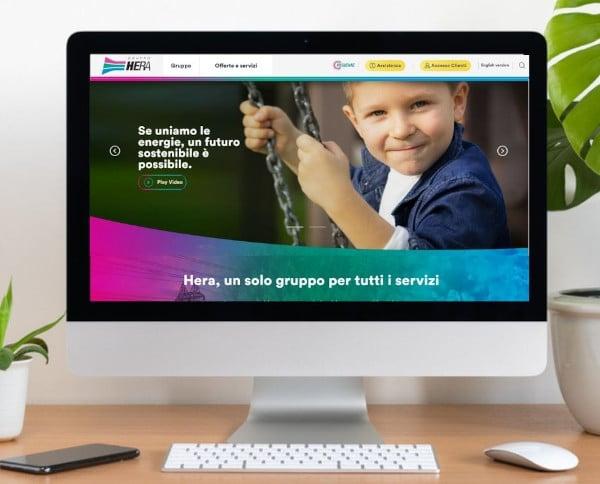 Gruppo Hera, online il nuovo sito