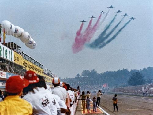 Prima del via al Gp di F1, le Frecce Tricolori si alzeranno nel cielo di Imola
