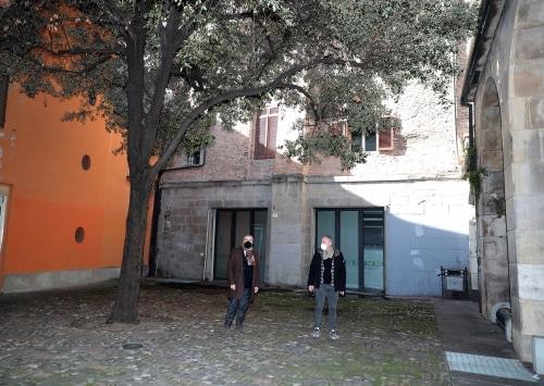 Al via il cantiere per il restauro del palazzo comunale dalla parte di via Appia