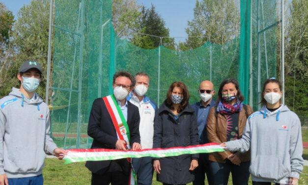 Atletica Faenza: inaugurate le nuove attrezzature alla Graziola
