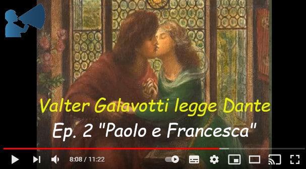 """Dante oggi… in Romagna: episodio 2 """"Paolo e Francesca"""""""