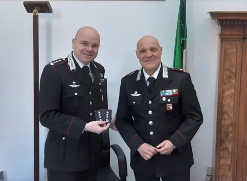 Biagio Cicatiello promosso  Capitano dei carabinieri