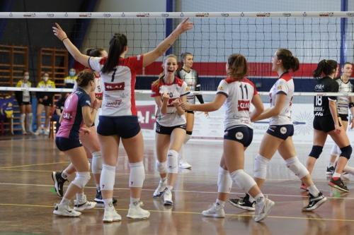 Volley femminile, una Clai brillante vince in trasferta a Castelfranco
