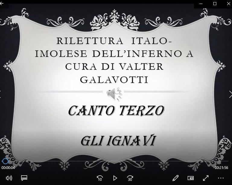 """Dante oggi in… Romagna: episodio 3 """"Gli ignavi"""""""