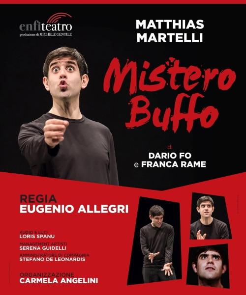 """""""Mistero Buffo"""": ancora posti disponibili gratis alla prova per gli under 20"""