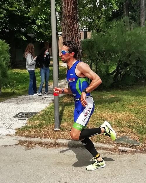 Triathlon medio, Negrini si piazza al terzo posto nella categoria S2