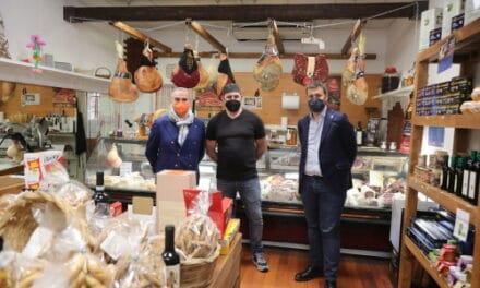 Panieri e Raffini in visita ai nuovi negozi che hanno aperto in centro storico