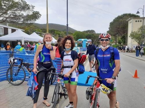 Triathlon sprint: Gaddoni riesce a terminare il tour di 5 prove all'sola d'Elba