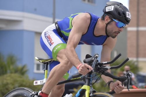 Triathlon, buona prova di Negrini soprattutto nella frazione ciclistica