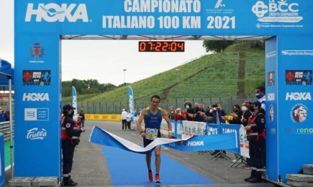 Campionato italiano 100 km, il trionfo di Marco Menegardi