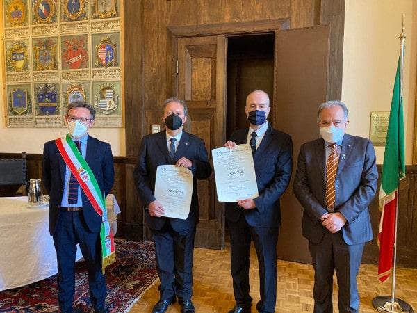 Onorificenze al merito della Repubblica: premiati due faentini