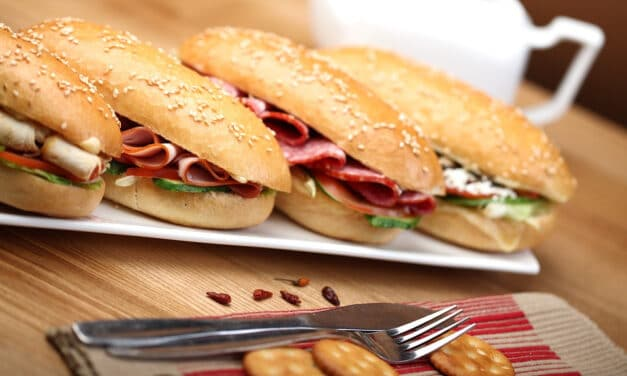 La preparazione a regola d'arte di un panino perfetto