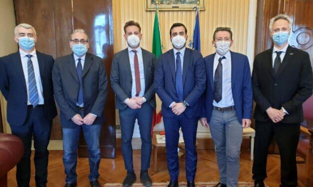 Unione della Romagna faentina in visita al ministero dell'Interno