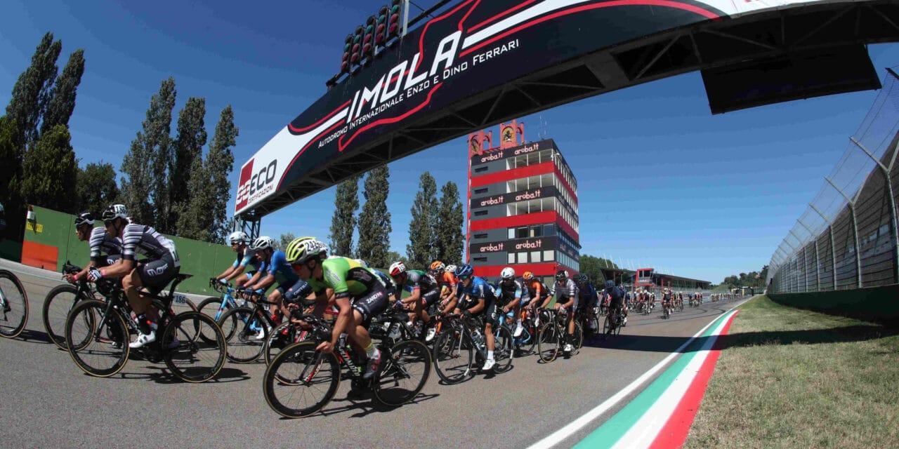 Tricolori di ciclismo fra Imola e la Romagna orgogliose di ospitarli