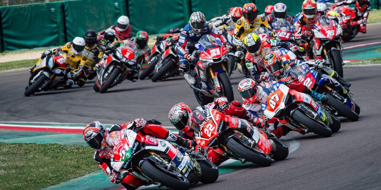Tante gare di alto livello in moto nel Campionato Italiano Velocità all'autodromo