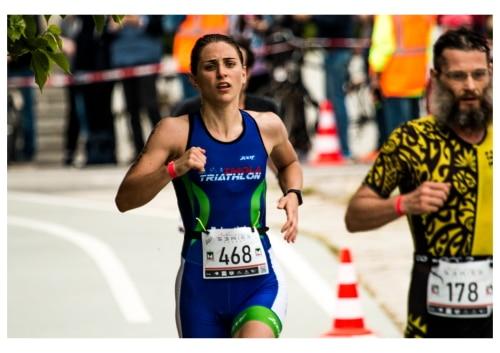 Triathlon sprint: terzo posto prestigioso per Ilaria Tubertini in categoria S2