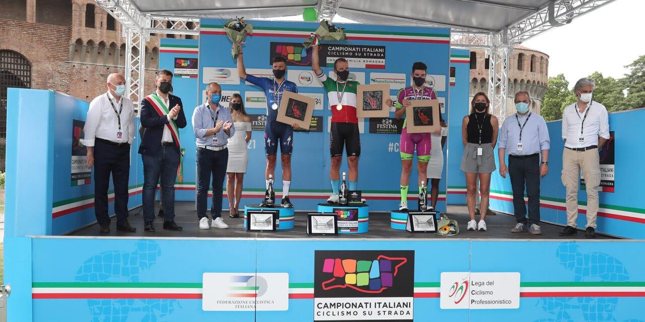 Sonny Colbrelli è il nuovo Campione italiano di ciclismo professionisti